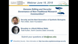 Gene Editing Webinar - Intro video